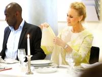 Etiketten und Knigge Optimal zu Tisch Kristin Faber Castell 12