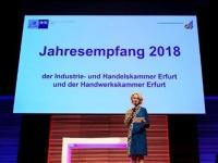 Jahresempfang IHK HWK 2018 Erfurt