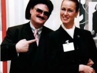 Kristin von Faber-Castell mit Rudolf Moshammer