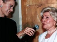Kristin von Faber-Castell mit Winnie Marcus
