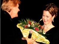 Kristin von Faber-Castell mit Howard Carpendale
