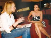 Kristin Gräfin von Faber-Castell mit Eva Padberg im Gespräch 2011